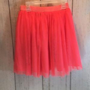 Girls peach skirt
